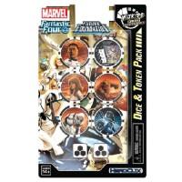 Dice & Token Pack - Marvel HeroClix - Fantastic Four Future Foundation - 84784